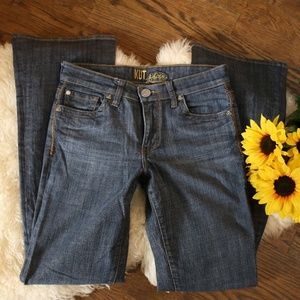 Kut from the Kloth Jeans Bootcut Flap Pocket 2